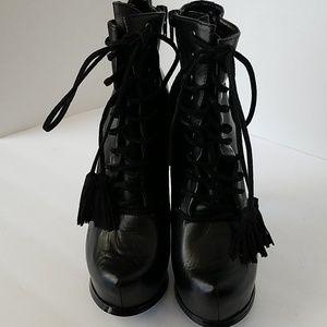 Aldo black boots Sz 7.5